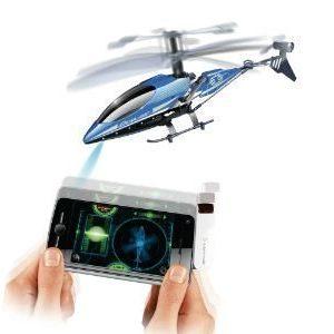 Älypuhelimella lennätettävä helikopteri