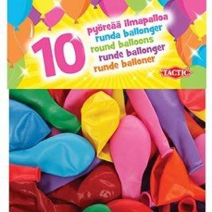 10 Pyöreää Ilmapalloa (10/pss)