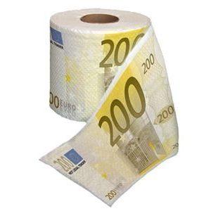 200 euron vessapaperi