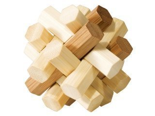3D-Bambu-palapeli Kaksoissolmu