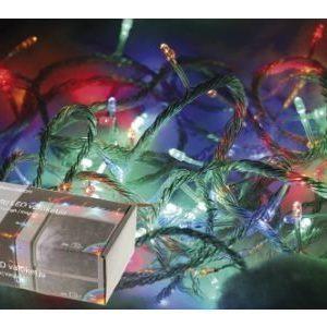 80 LED-lampun monivärivaloketju