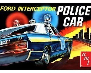 AMT 1970 Ford Galaxie Interceptor Police Car