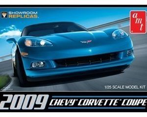 AMT 2009 Chevy Corvette Coupe