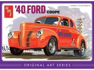 AMT 40' Ford Coupe dual color