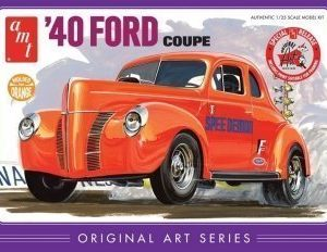 "AMT 40' Ford coupe ""original art"""