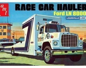 AMT Ford LN 8000 Race Car Hauler