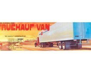 AMT Fruehauf Beaded Van Trailer