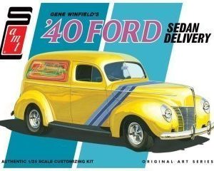 AMT Gene Winfield's '40 Ford Sedan Delivery