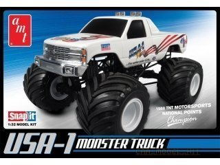 AMT USA-1 Chevy Monster Truck