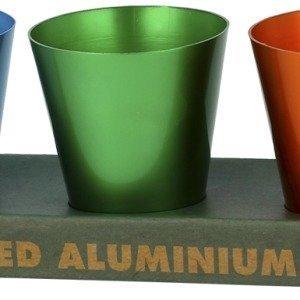Alumiiniset shottilasit