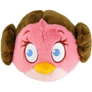 Angry Birds Star Wars Jättipehmo Princess Leia 40 cm