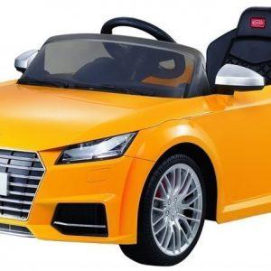 Audi TTS Sähköauto Keltainen