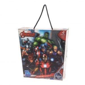Avengers 3d Palapeli 4 Kpl