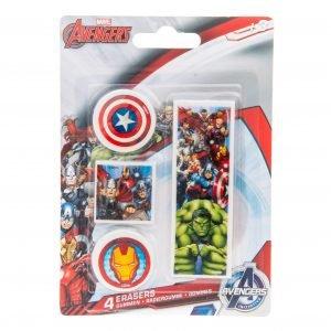 Avengers Pyyhekumit 4kpl/Pkt