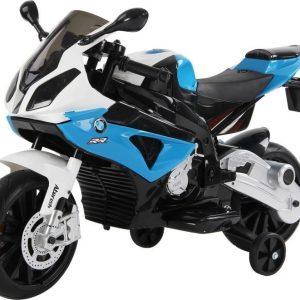 BMW Sähkömoottoripyörä Sininen