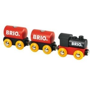 BRIO Klassinen juna ja 2 vaunua