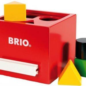 BRIO Palikkalaatikko Punainen