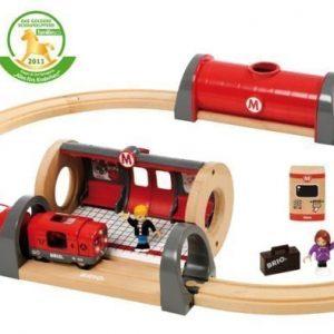 BRIO Puuratatie Metro-ratasetti