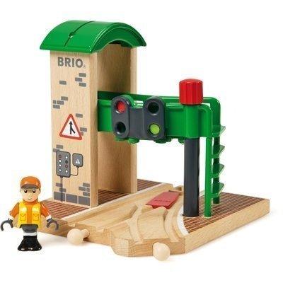 BRIO Puuratatie Ratavaihde ja työmies