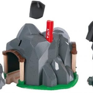 BRIO Puurautatie Dynamiittitunneli