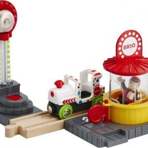 BRIO Puurautatie Fun Park Playset