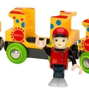 BRIO Puurautatie Fun Park Train