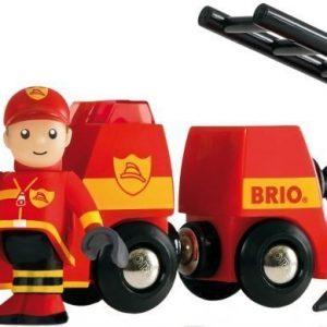 BRIO Puurautatie Paloauto Valo ja ääni