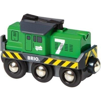 BRIO Puurautatie Rahtiveturi Paristokäyttöinen