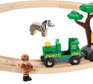 BRIO Puurautatie Safari Railway Set