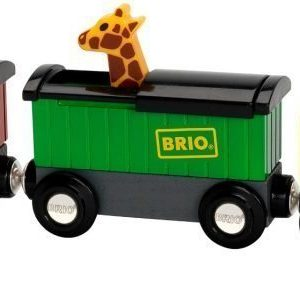 BRIO Puurautatie Safari Train