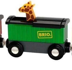 BRIO Puurautatie Safari Train