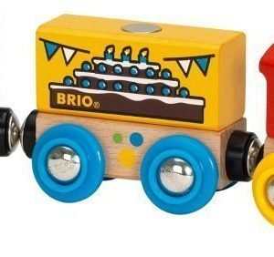 BRIO Puurautatie Syntymäpäiväjuna