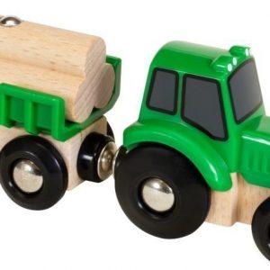 BRIO Puurautatie Traktori ja lasti