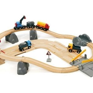 BRIO Rail & Road Kivenlastaus rata