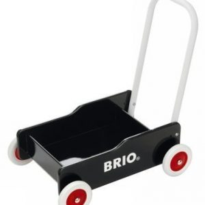 BRIO Taaperokärry musta
