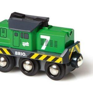 BRIO Vihreä rahtiveturi paristokäyttöinen