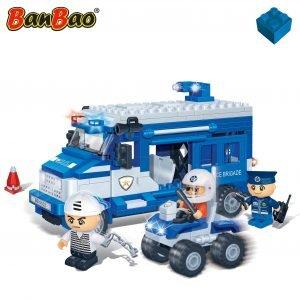 Banbao Poliisimaija Ja Mönkijä 250 Osaa