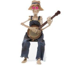 Banjoa soittava Luuranko