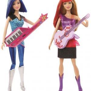 Barbie Co-Star Rokkitähtinukke