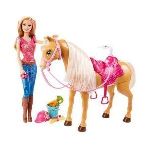 Barbie Nukke ja hevonen