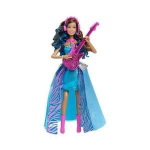 Barbie Rock 'n Royals Erika nukke jossa ääni