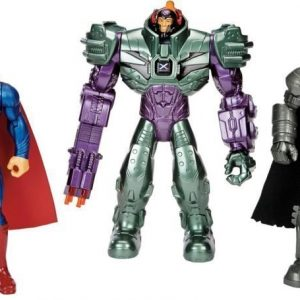 Batman vs Superman Hahmo Batman/Superman/Lex Luthor 3 kpl