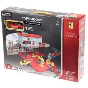 Bburago Ferrari 1:43 Autohuoltorakennus