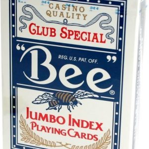 Bee Poker Jumbo Index -pelikortit