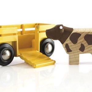 Brio Karjavaunu & Lehmä