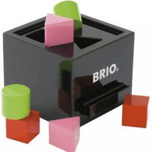 Brio Palikkalaatikko Musta