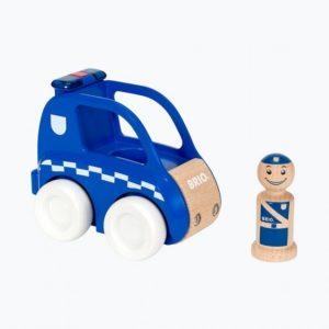 Brio Poliisiauto Valo Ja Äänitehosteilla