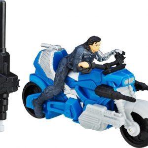 Captain America Combat Racer Winter Soldier W Blast Action Cycle 6 cm