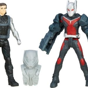 Captain America Team VS Team Figure Ant man VS Winter Soldier 6 cm