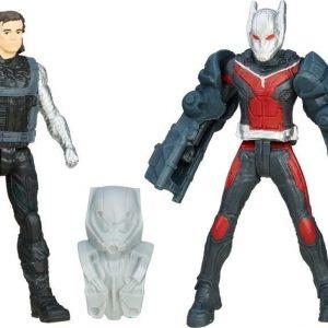 Captain America Team VS Team Figure Ant man VS Winter Soldier 6 cm